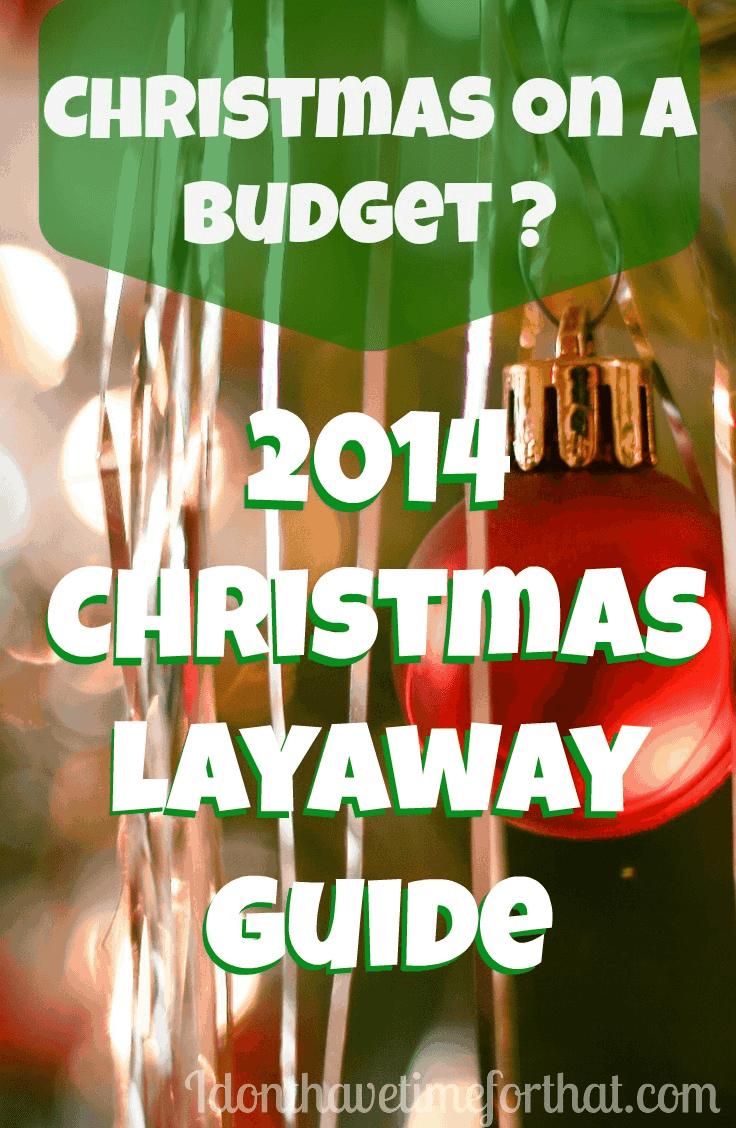 christmas layaway guide