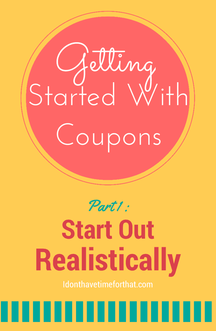 getting started with coupons