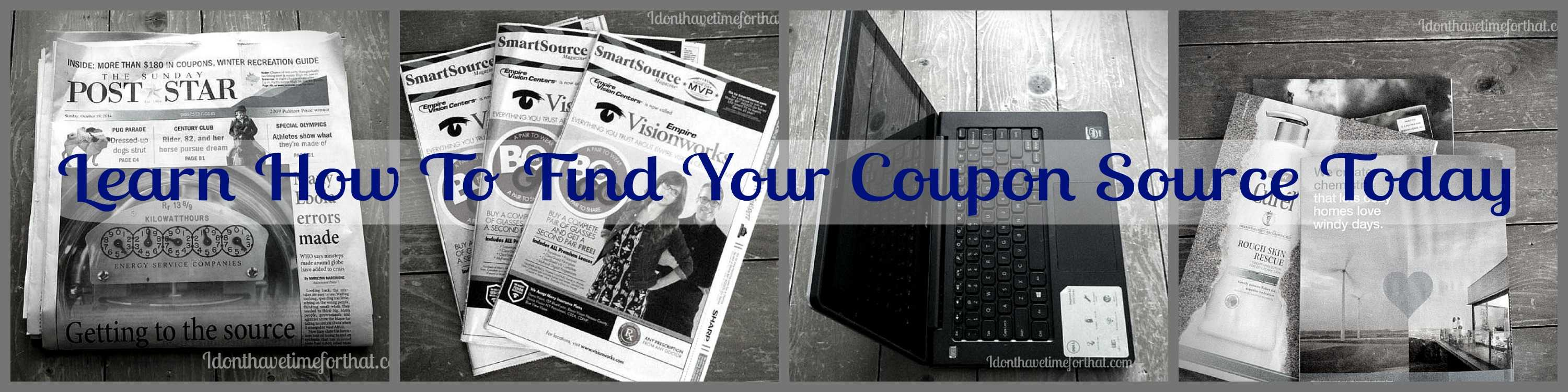 learn where and how to find coupons