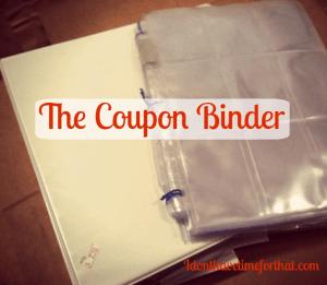 Organizing Coupons Binder Method