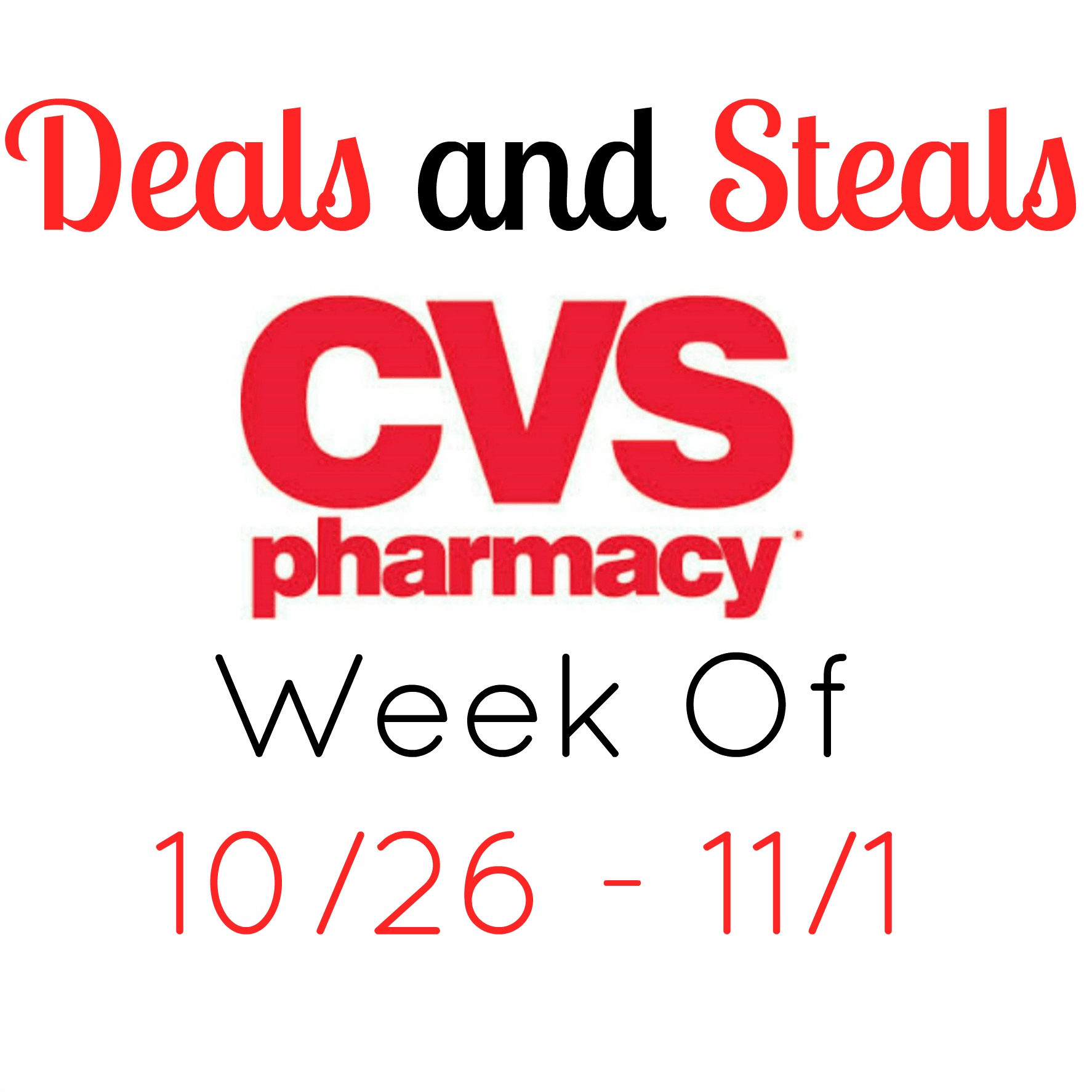 cvs coupon deals