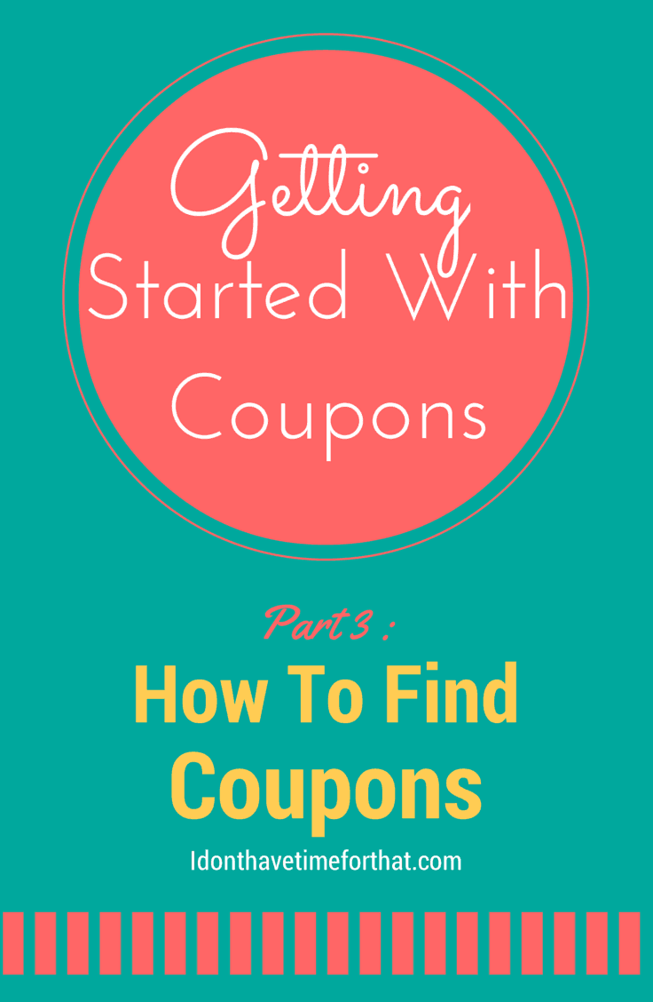 Getting Started With Coupons Part 3: Start Your Coupon Stock Pile
