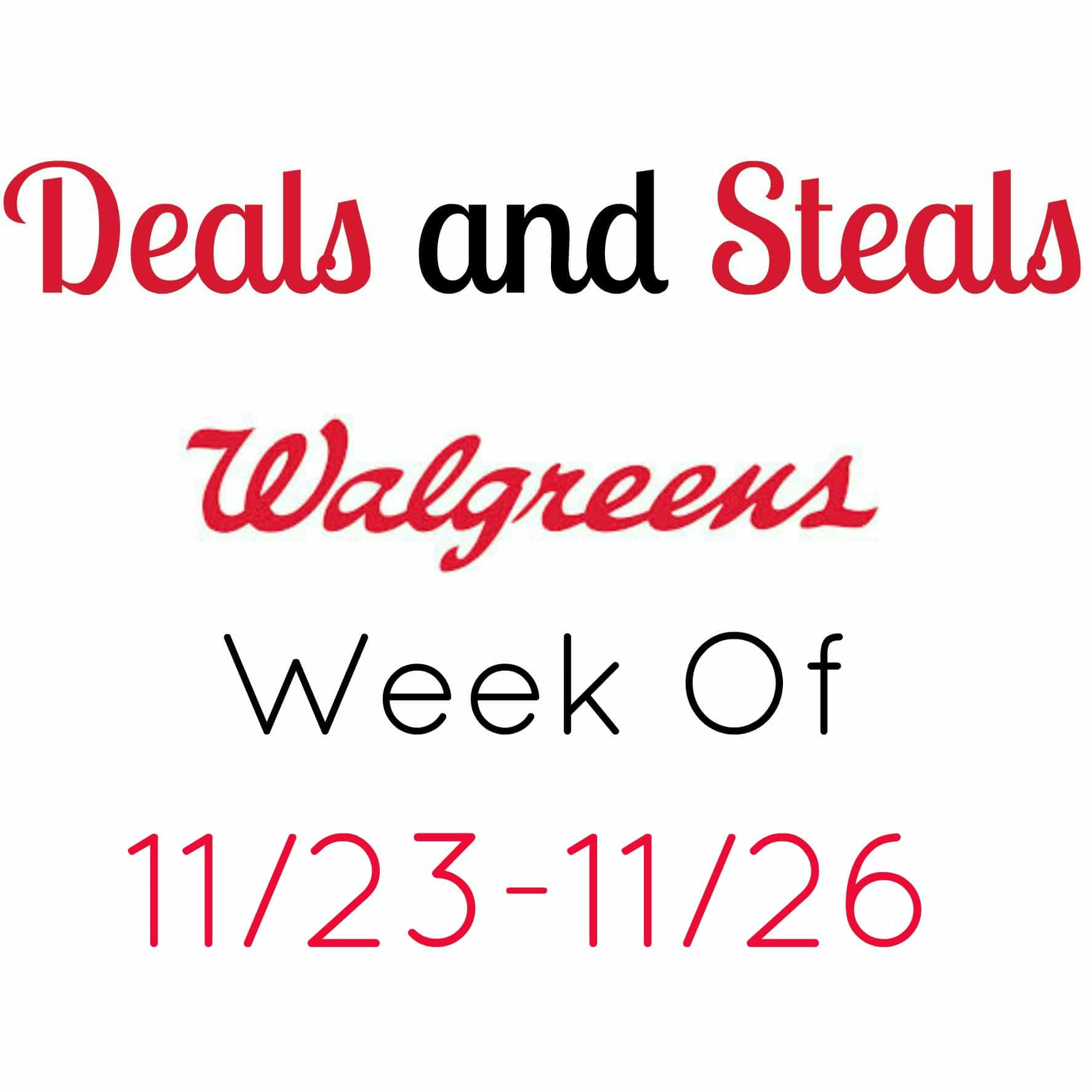 walgreens coupon deals