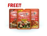 Free Package of Chicken of the Sea Flavored Salmon!