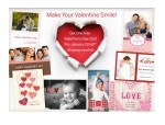 FREE Personalized Valentine's Day Card With FREE shipping!