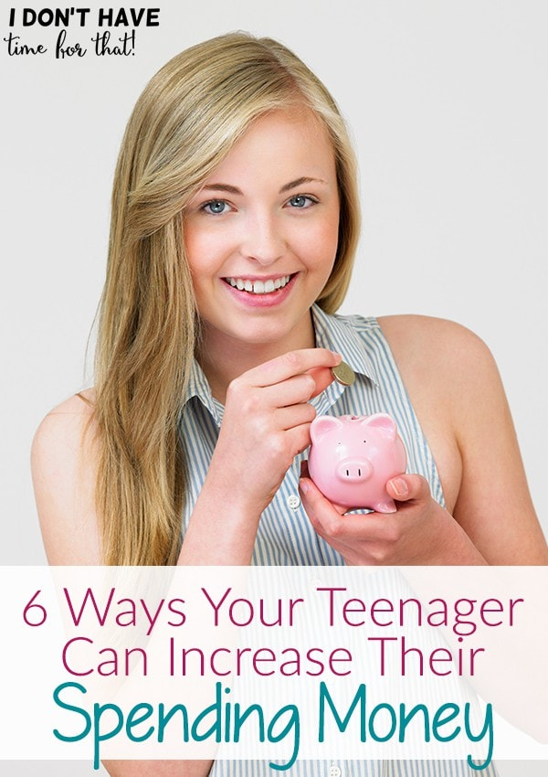 6 Ways Your Teenager Can Increase Their Spending Money