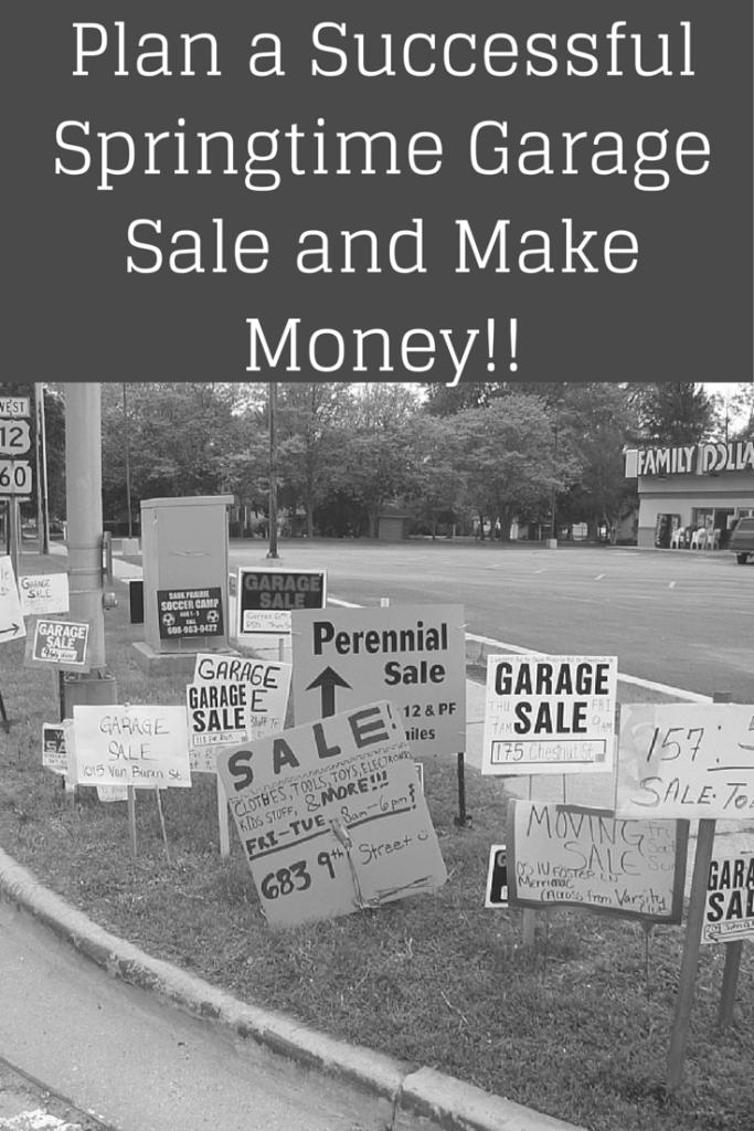 Plan a Successful Springtime Garage Sale
