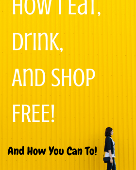 How I Eat, Drink, And Shop For Free While Mystery Shopping! And How you Can To!