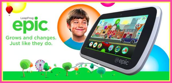 Enter to Win a $500 LeapFrog Epic Prize Pack! - I Don't Have