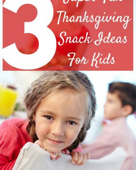 3 Fun Thanksgiving Snack/Craft Ideas For Kids