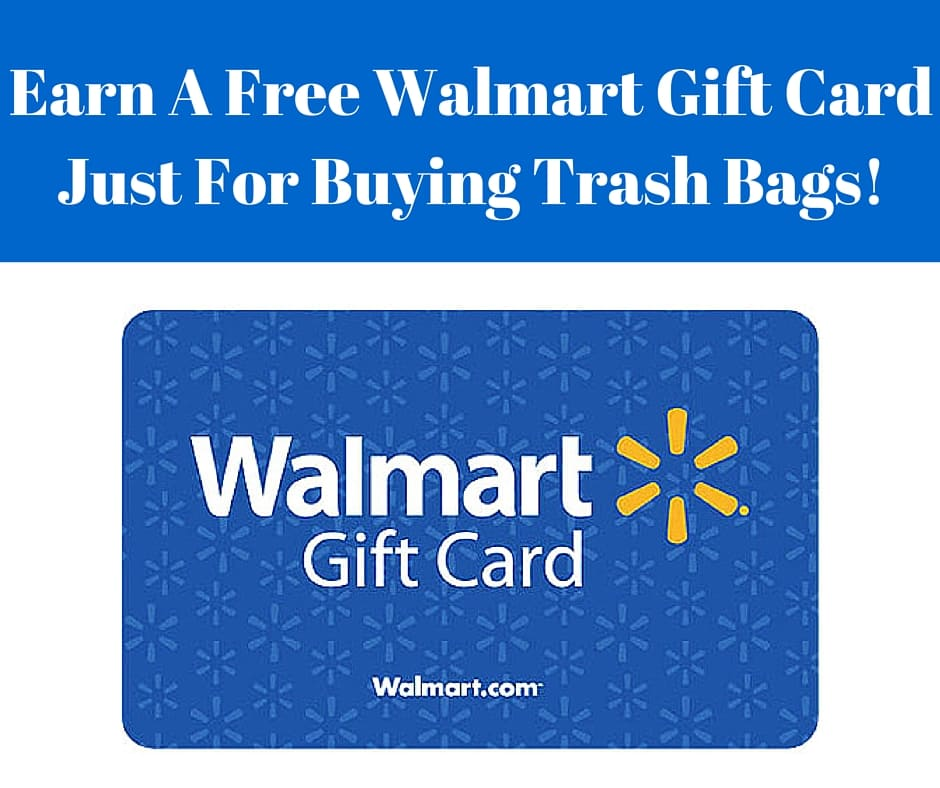 Earn A Free $10 Walmart Gift Card Just For Buying Trash