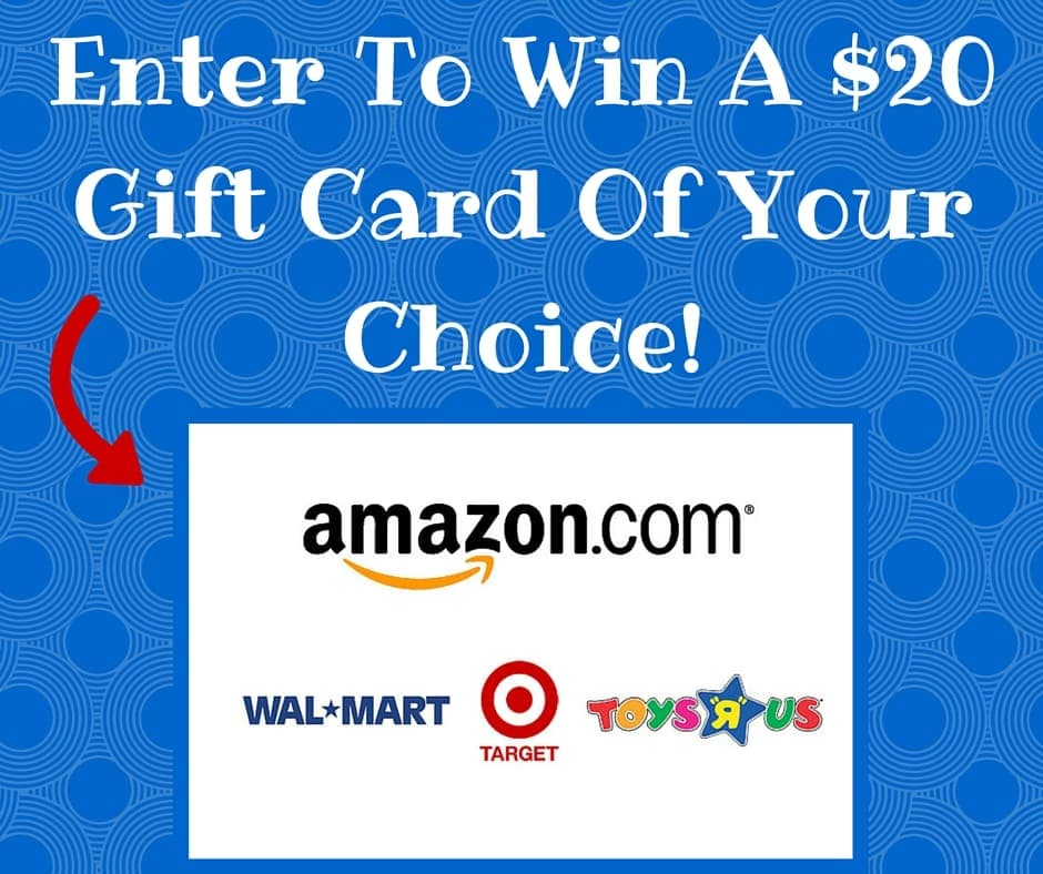 Enter To Win A $20 Gift Card Of Your Choice!