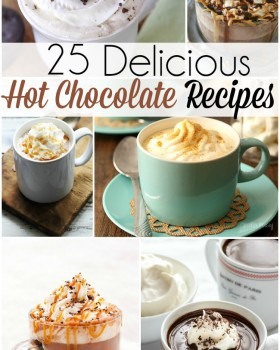 Top 25 Delicious Hot Chocolate Recipes!