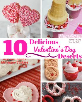 10 DeliciousValentine's Day Desserts
