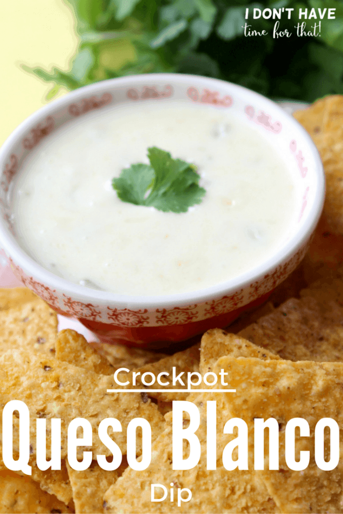 Crockpot Queso Blanco Dip
