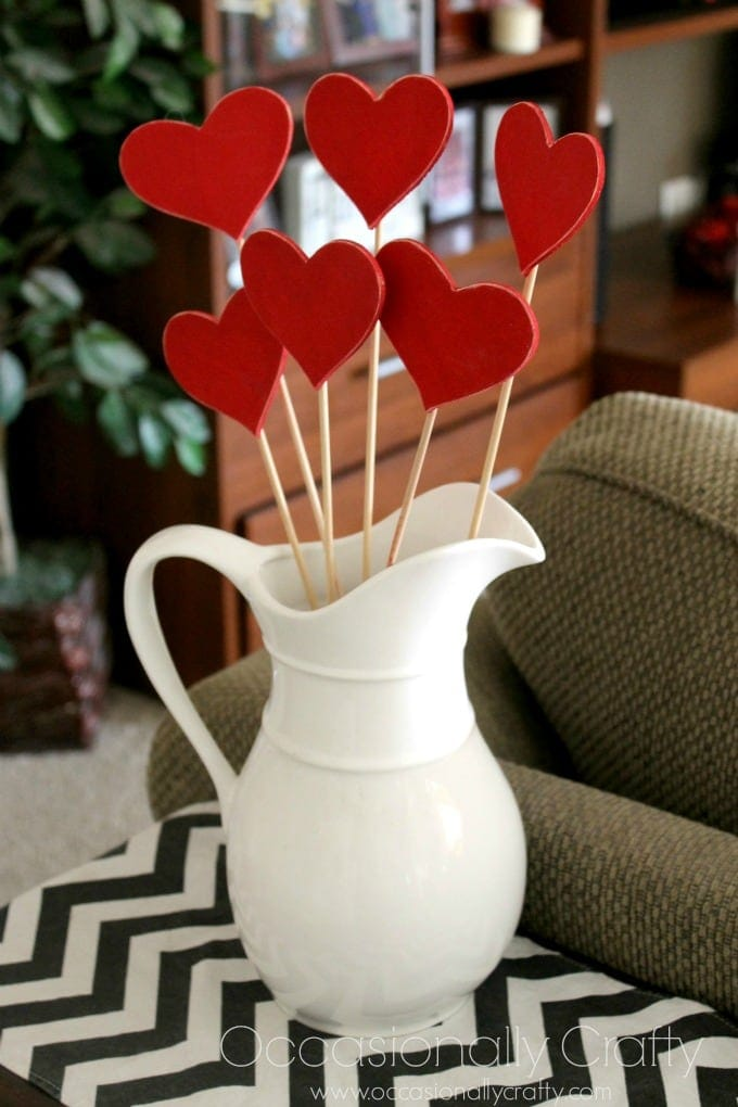 Heart Skewers Valentine's Day Decor 2