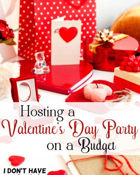 Hosting a Valentine's Day Party on a Budget