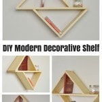 DIY Modern Decorative Shelf