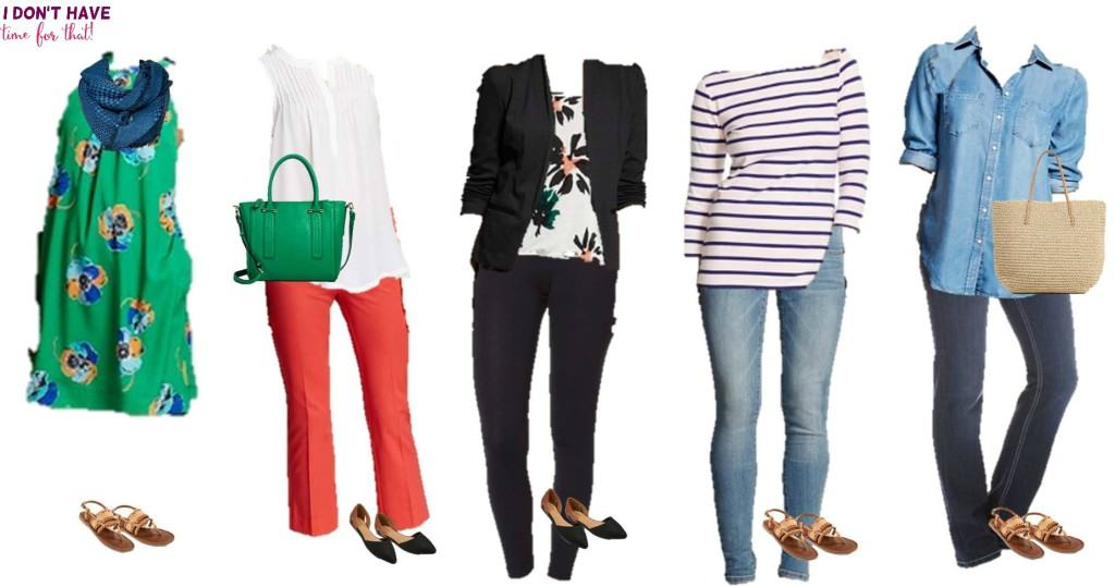 Mix and match wardrobe - Spring Styles from Target 1-5