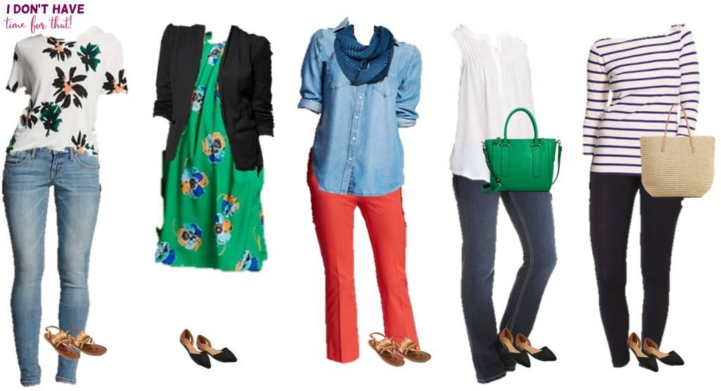 Mix and match wardrobe - Spring Styles from Target 11-15