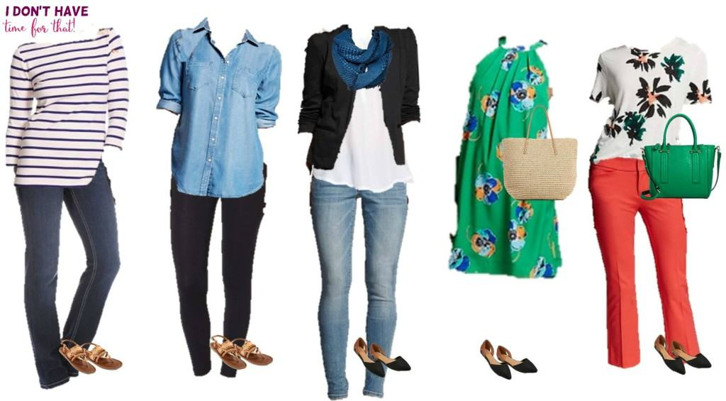 Mix and match wardrobe - Spring Styles from Target 6-10