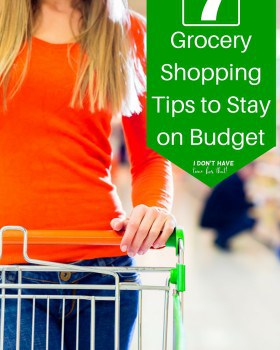 7 Grocery Shopping Tips to Stay on Budget