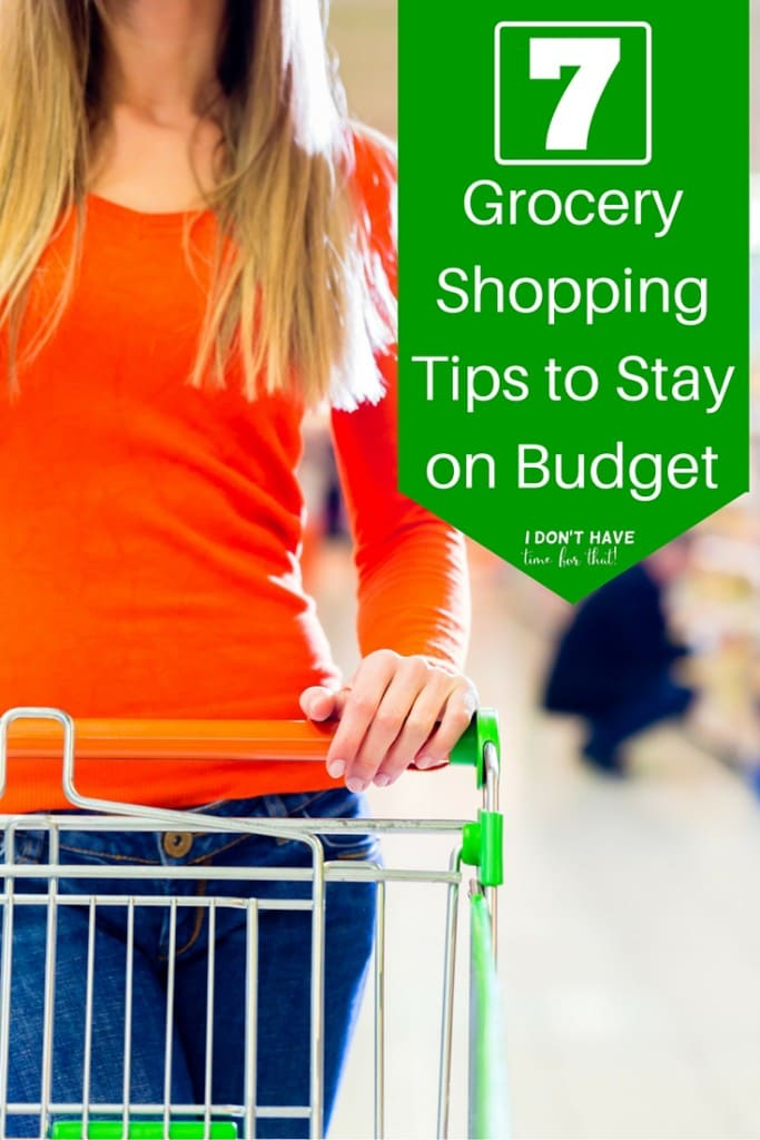 Grocery Shopping Tips to Stay on Budget