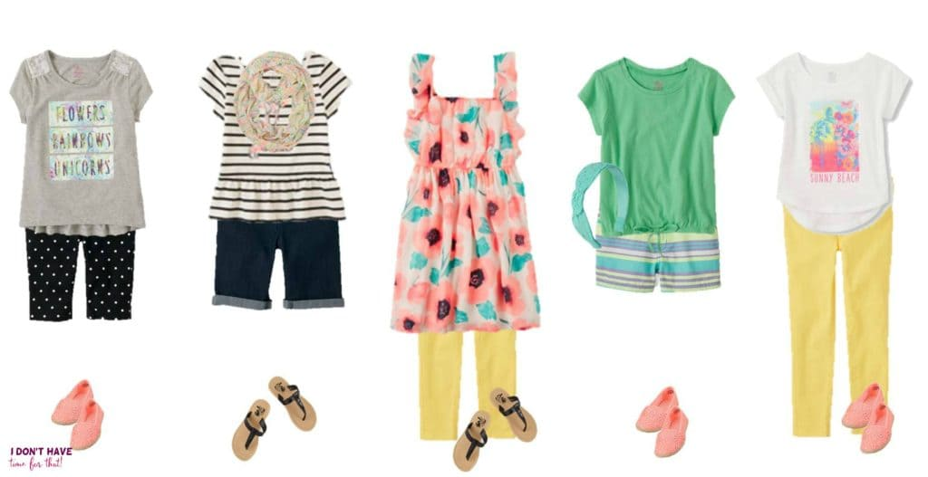 Mix and Match - Girls Summer Styles from TCP 11-15