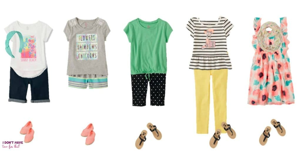 Mix and Match - Girls Summer Styles from TCP 6-10
