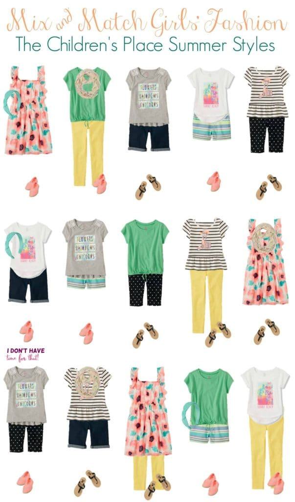 Mix and Match - Girls Summer Styles from TCP VERTICAL