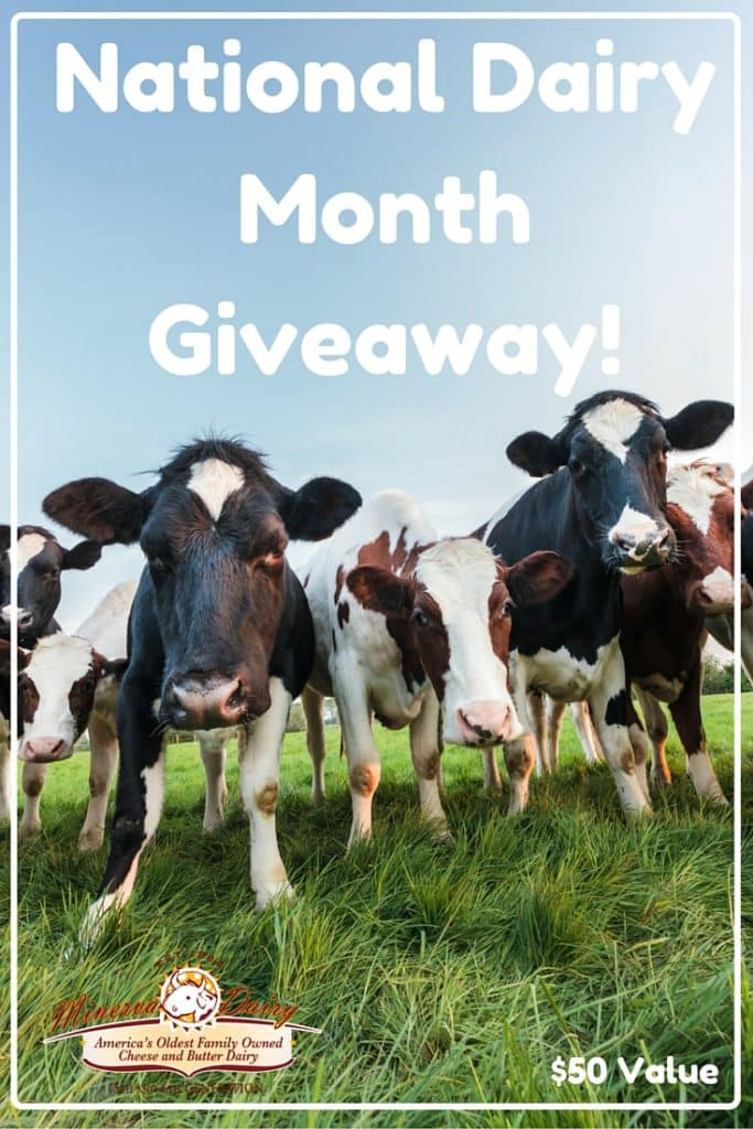National Dairy Month Giveaway!
