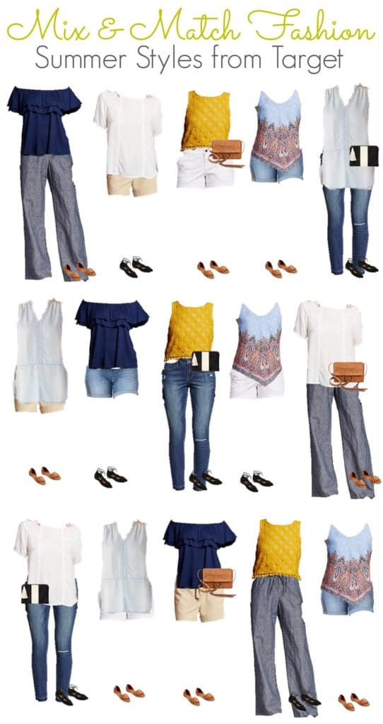 5.10 Mix and Match Fashion - Target Summer Styles VERTICAL