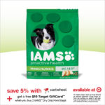 Save 5% On Iams, PLUS get a $10 Target Gift Card!