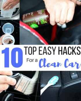 Top 10 Easy Hacks For a Clean Car + Giveaway!