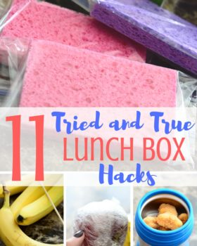 11 Tried and True Lunch Box Hacks