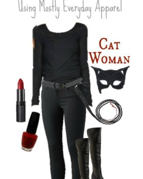 Wearable Everyday Halloween Costume – Cat Woman