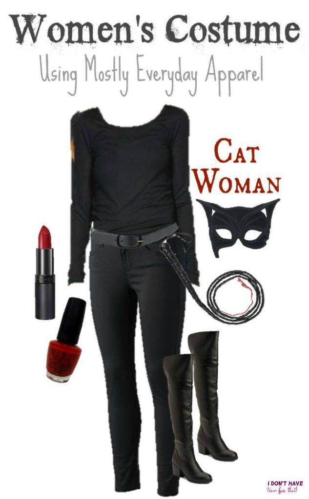 Cat Women Halloween costume