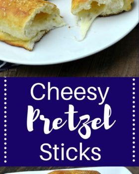 Cheesy Pretzel Sticks
