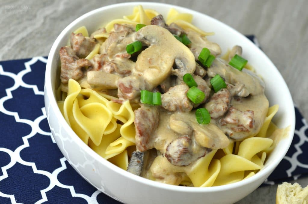 Instant Pot Beef Stroganoff I Don T Have Time For That