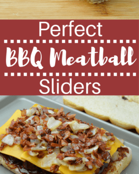 Perfect BBQ Meatball Sliders