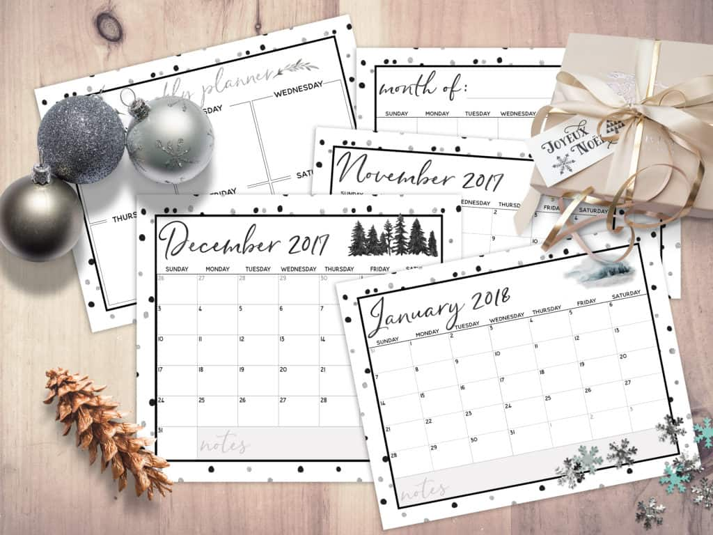 Free Printable The Ultimate Holiday Planner I Don T Have Time For That